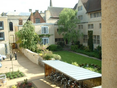 Campion Hall - my view